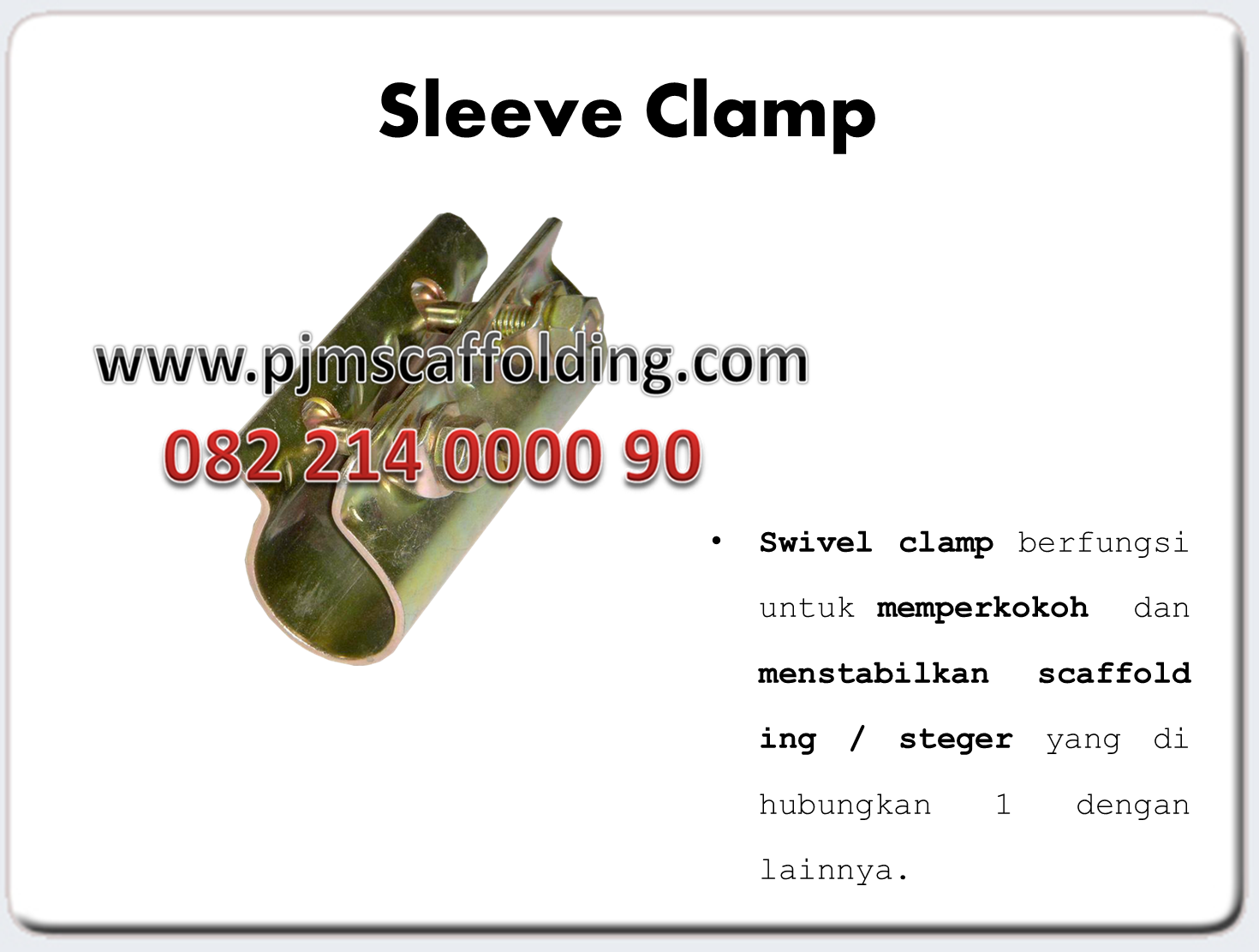 Sleeve Clamp